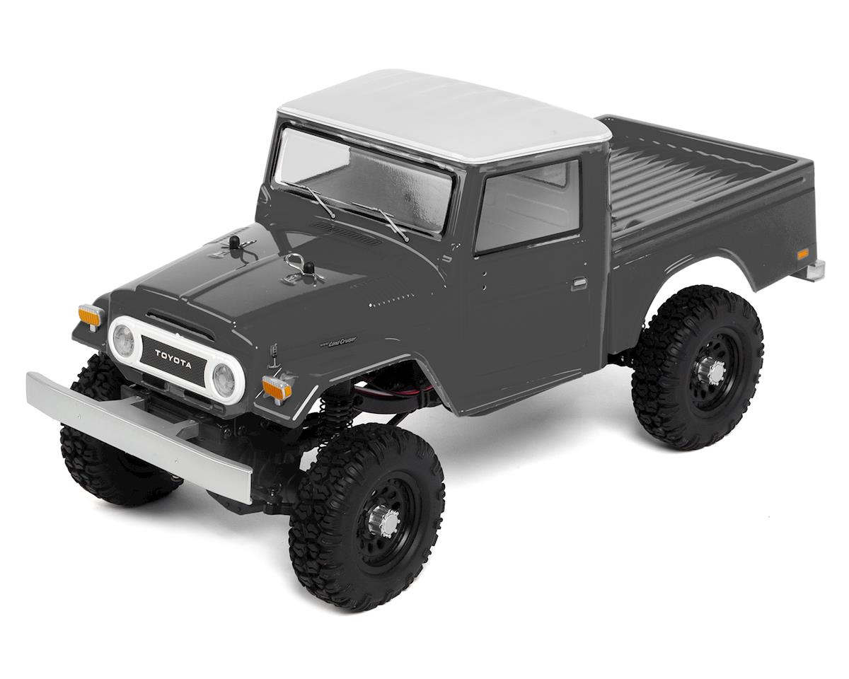 Team Associated CR12 Toyota FJ45 Truck RTR 1/12 4WD Rock Crawler (Grey)  w/2 4GHz Radio, Battery & Charger