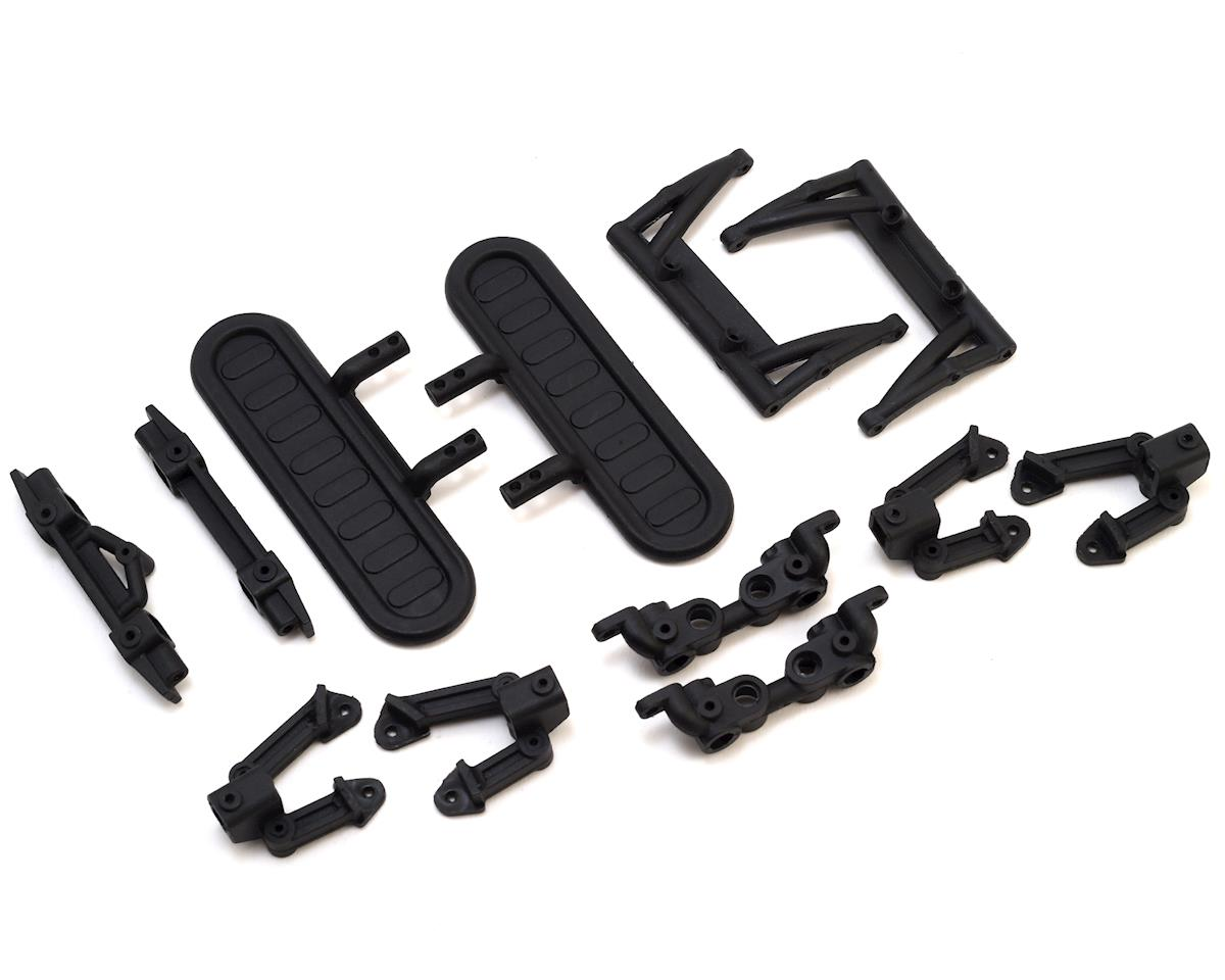 Team Associated CR12 Shock Towers & Bumper Mounts Set