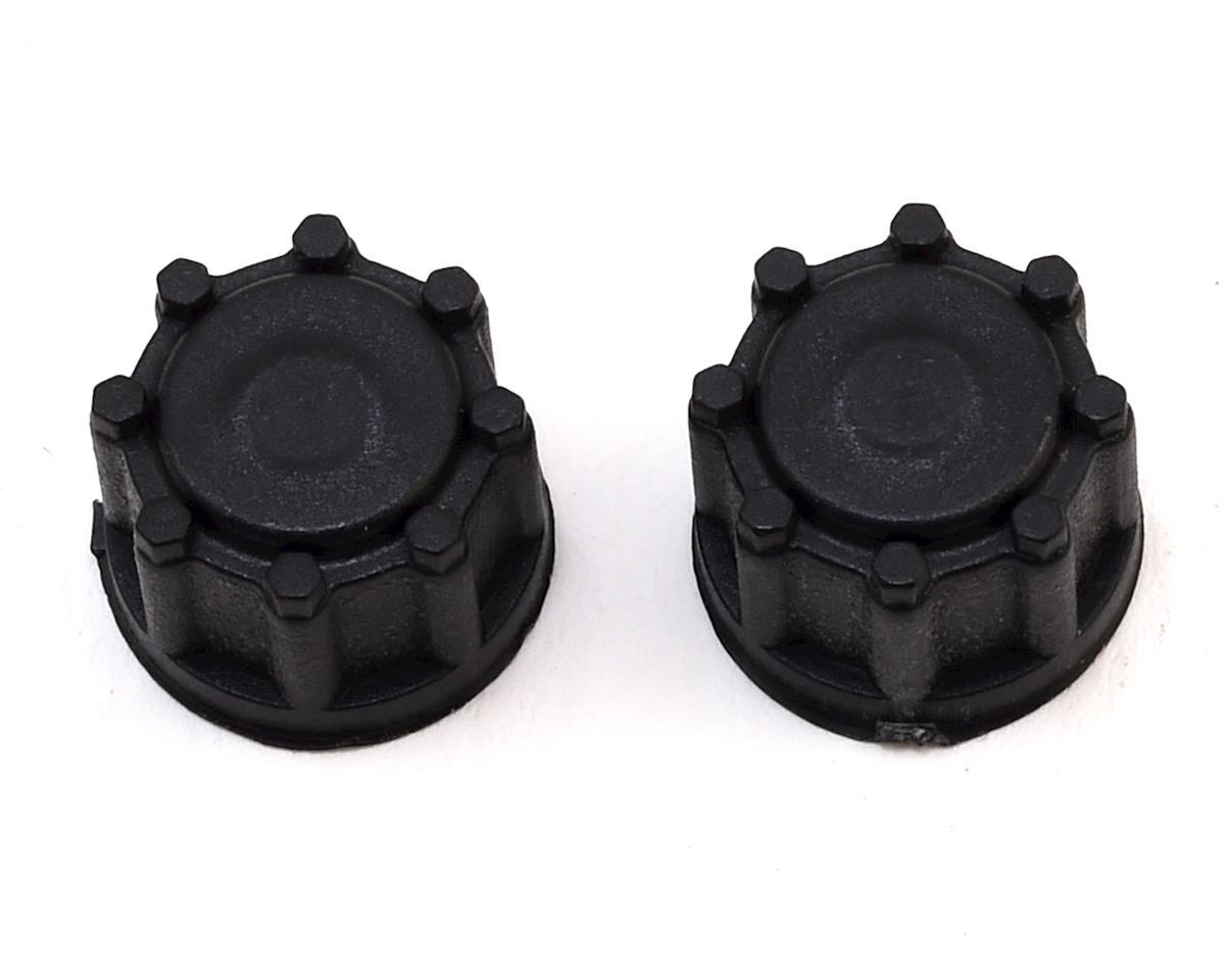 Image 3 for Team Associated 12mm Hex CR12 Wheel w/Caps (Black) (2)