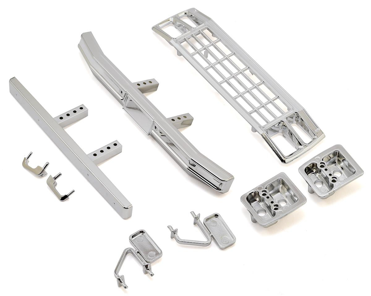 Team Associated CR12 Ford F-150 Grill & Accessories Set (Chrome)