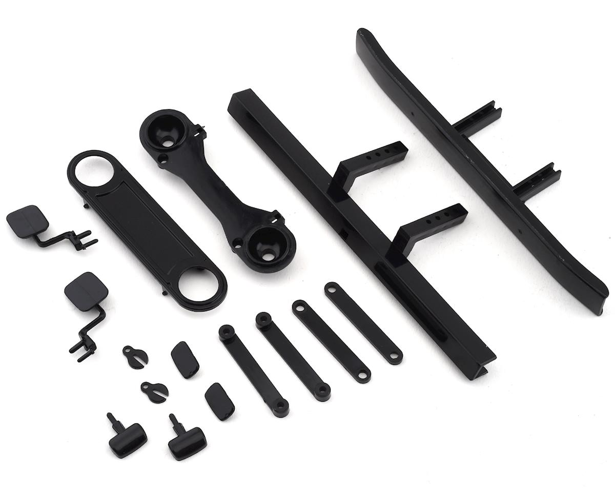 Team Associated CR12 Toyota FJ45 Bumpers & Body Accessories (Black)