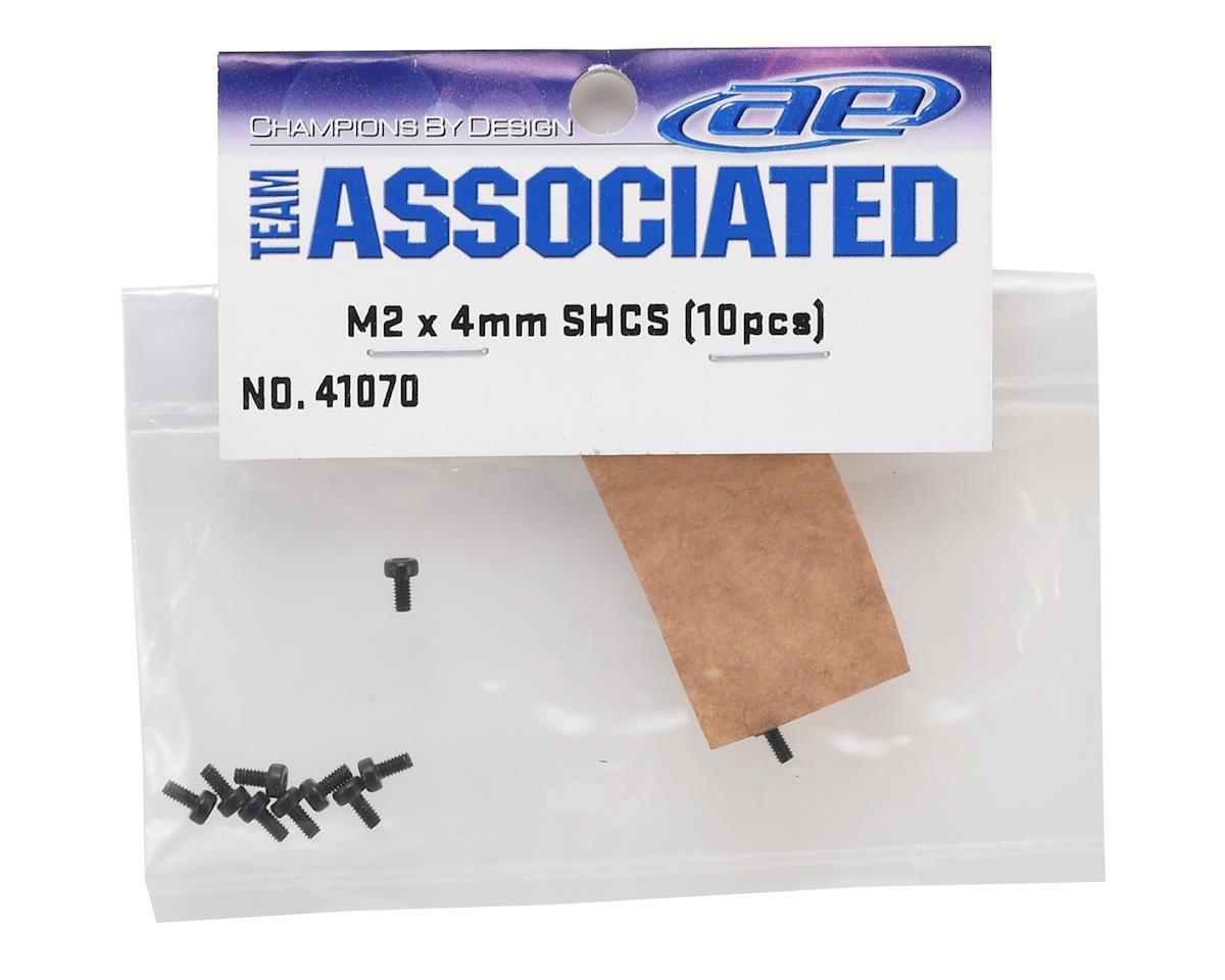 Team Associated 2x4mm Cap Head Hex Screw (10)