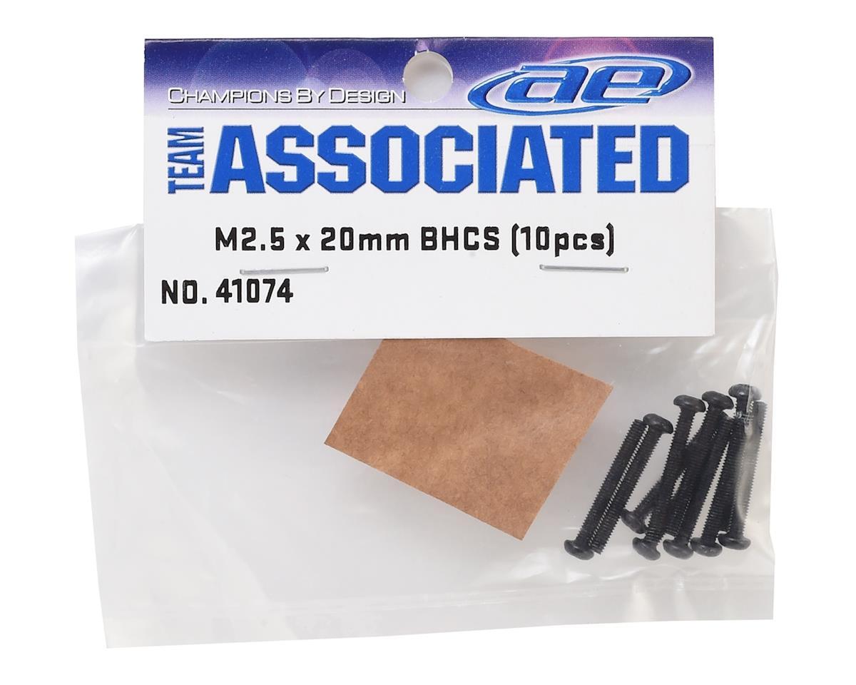 Team Associated 2.5x20mm Button Head Screw (8)