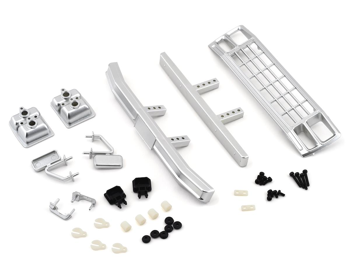 Team Associated CR12 Ford F150 Grill & Accessories Set (Satin Chrome)