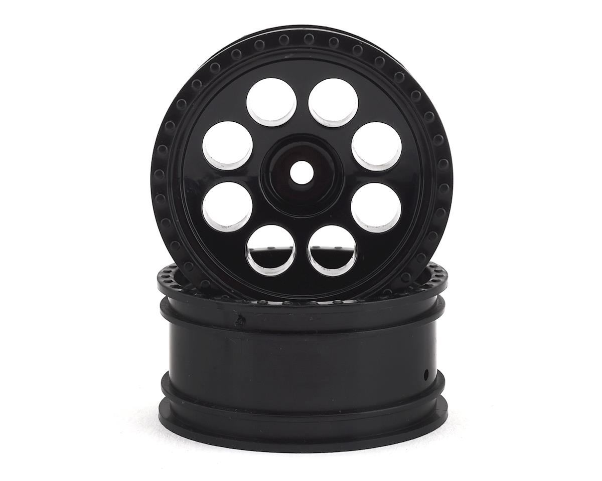 Team Associated CR12 Tioga Wheels (Black) (2)