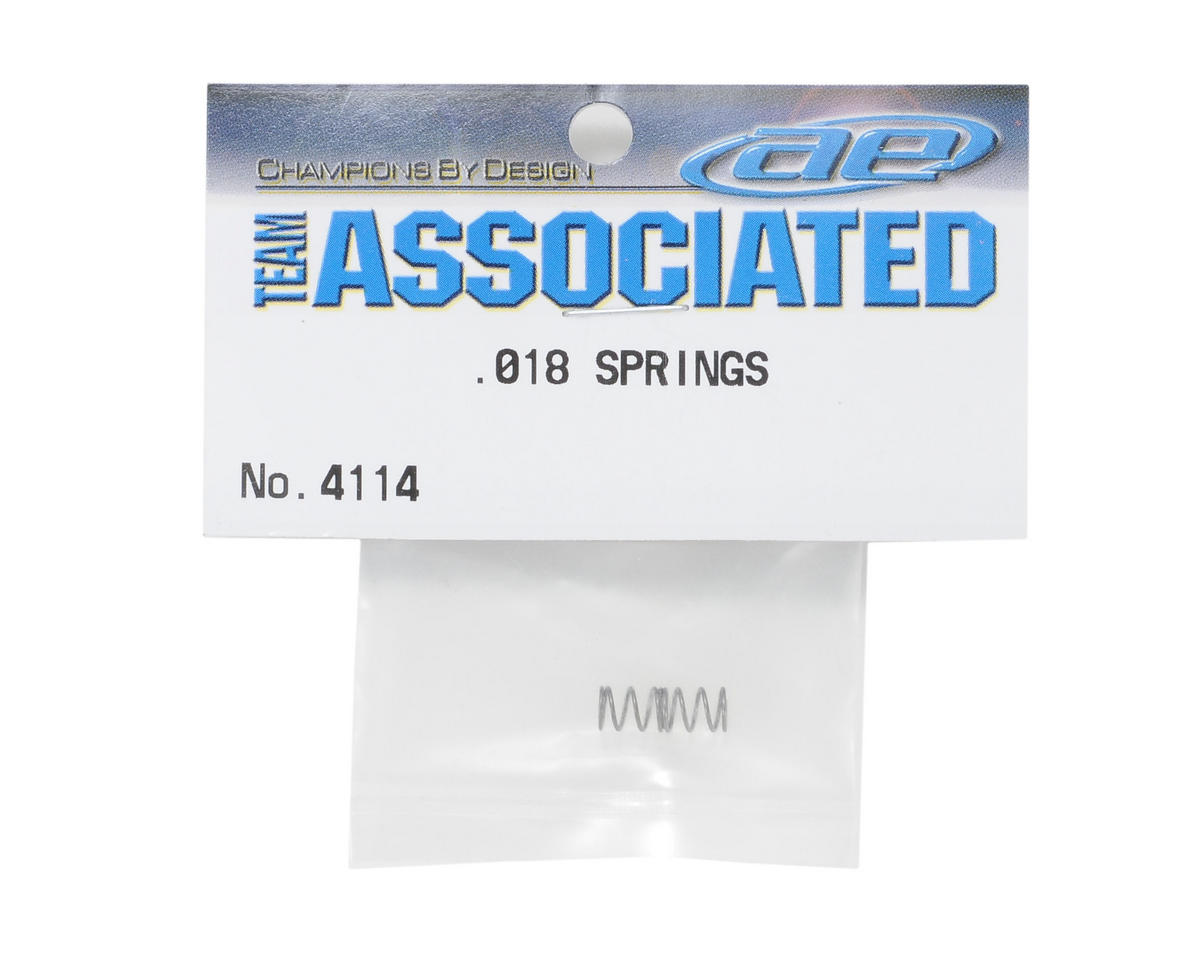 Team Associated Shock Spring Set (.018)