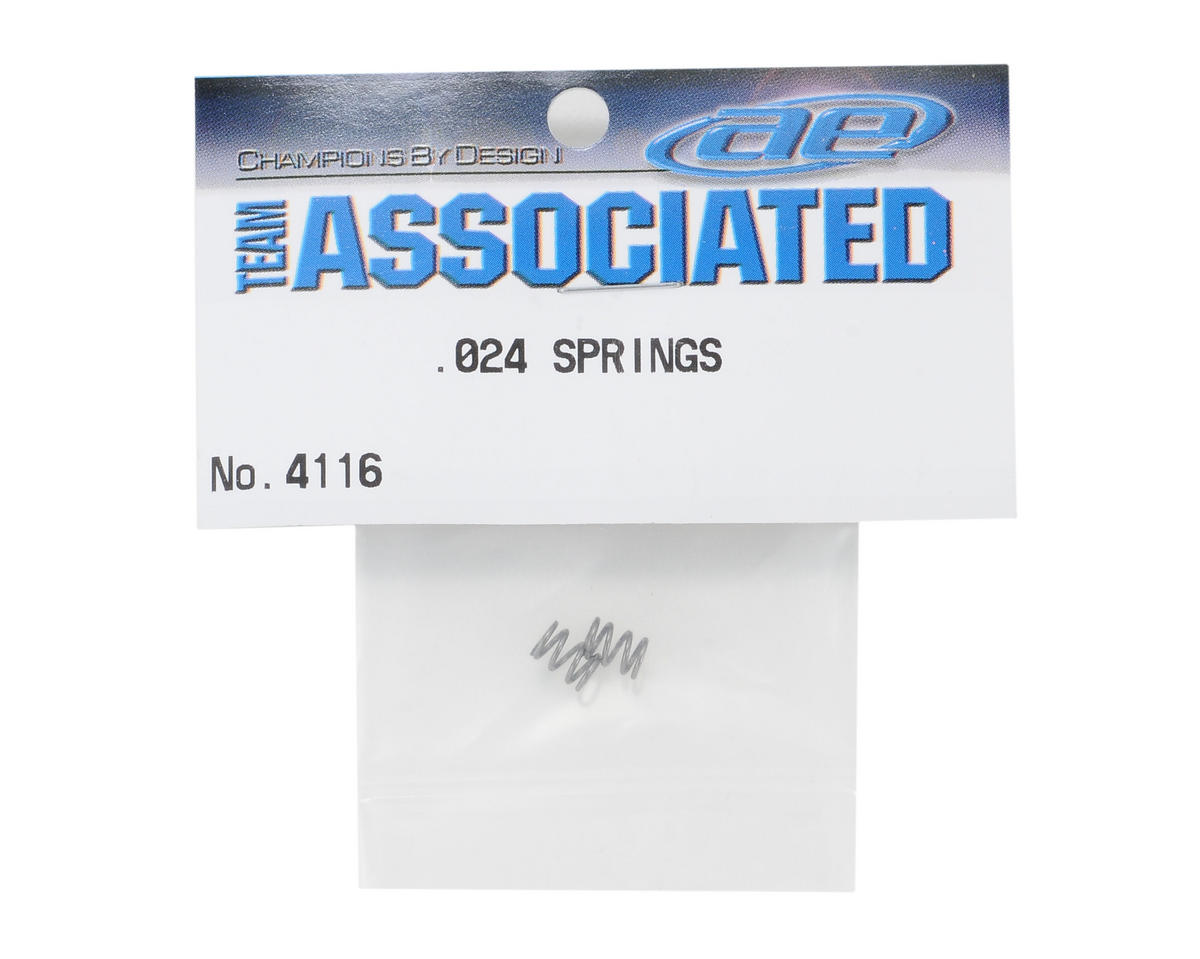Team Associated Shock Springs (.024 Wire)