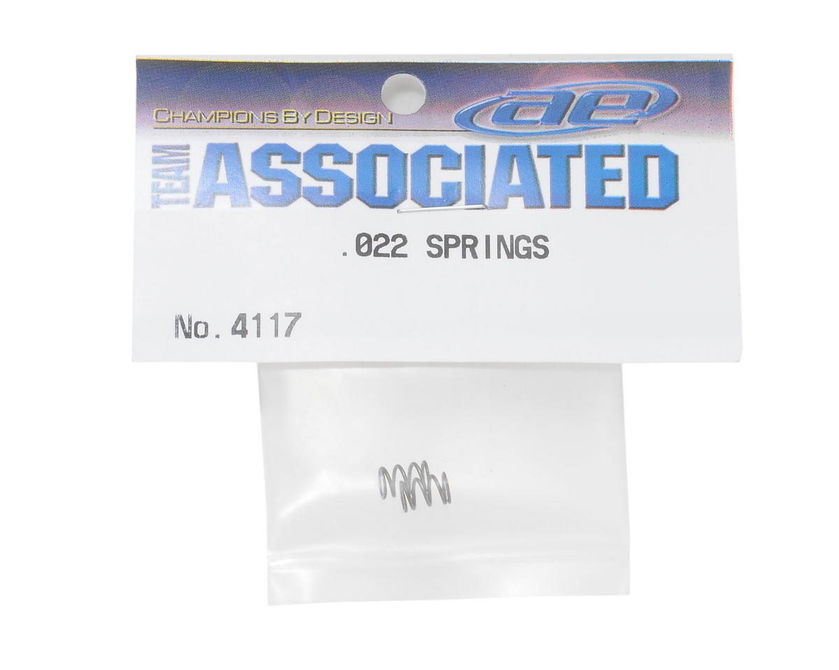 Team Associated Shock Spring Set (.022 Wire)