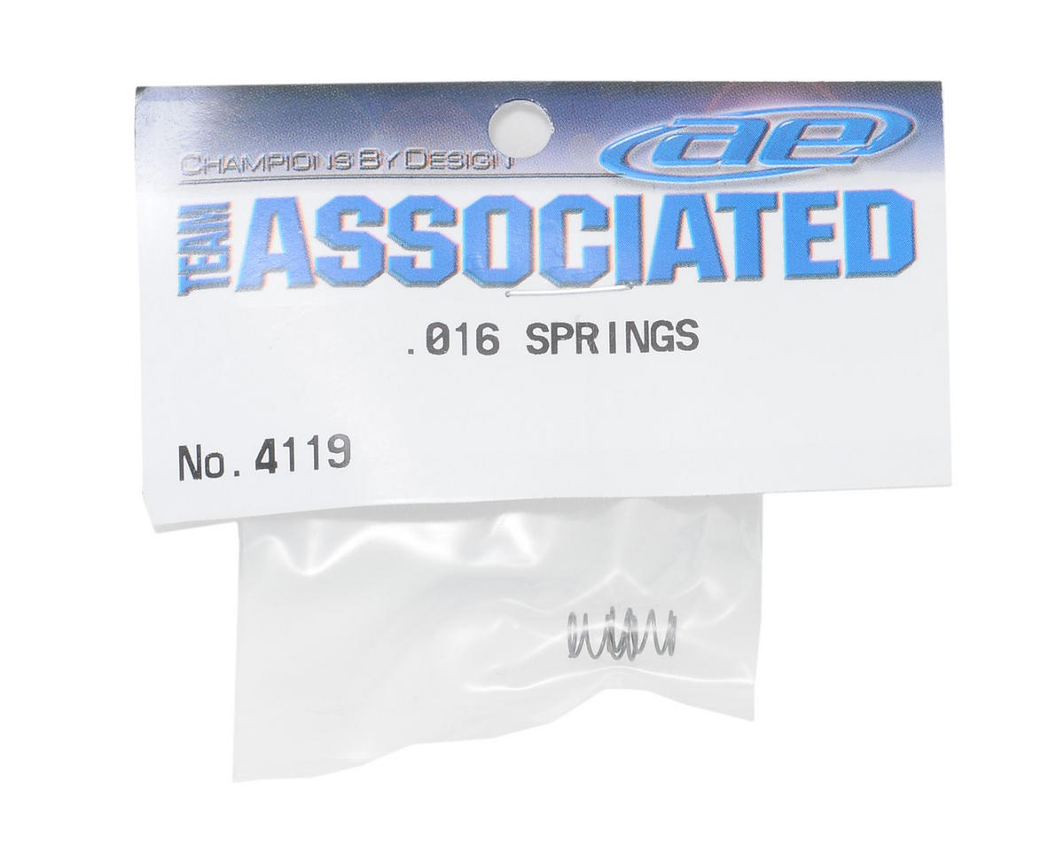 Team Associated Shock Springs (.016 Wire)