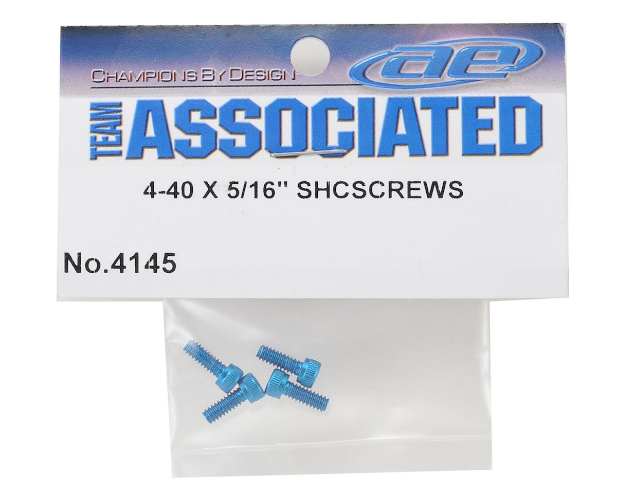 Team Associated 4-40 x 1/4 Aluminum Socket Head Cap Screws