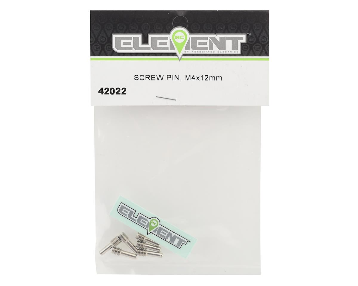 Element RC 4x12mm Screw Pins (6)