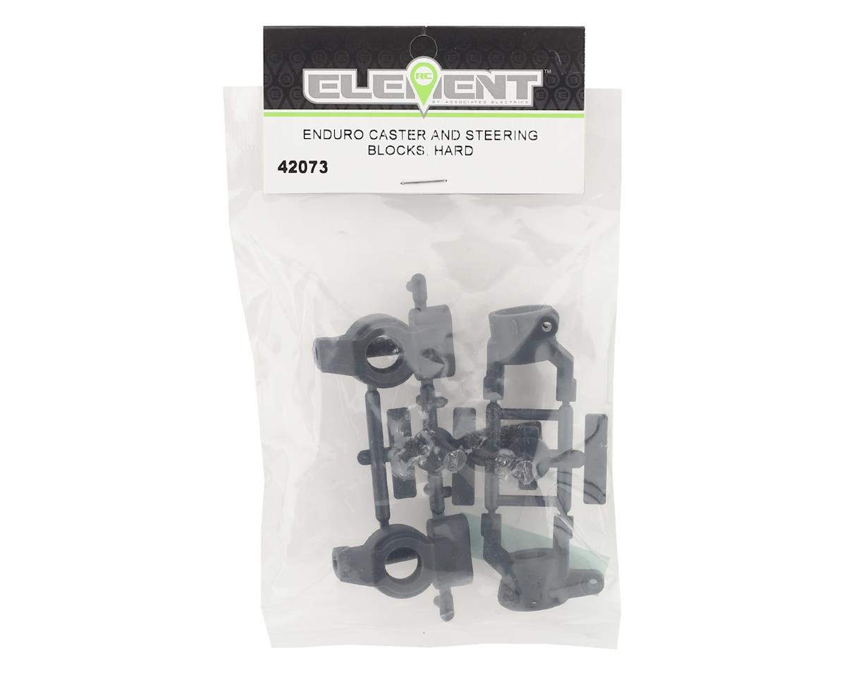 Element RC Enduro Caster & Steering Blocks (Hard)