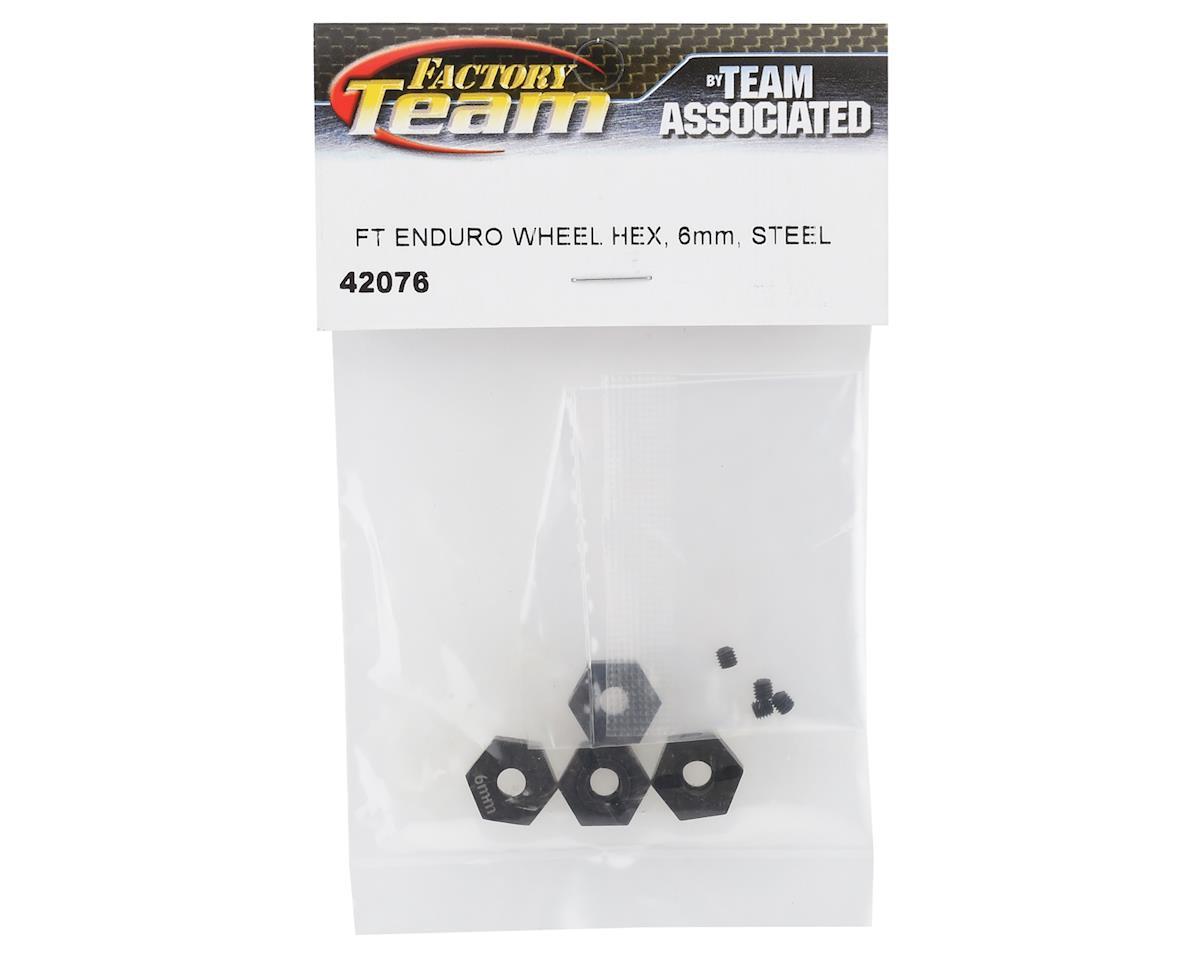 Element RC Factory Team 6mm Steel Enduro Wheel Hexes (4)
