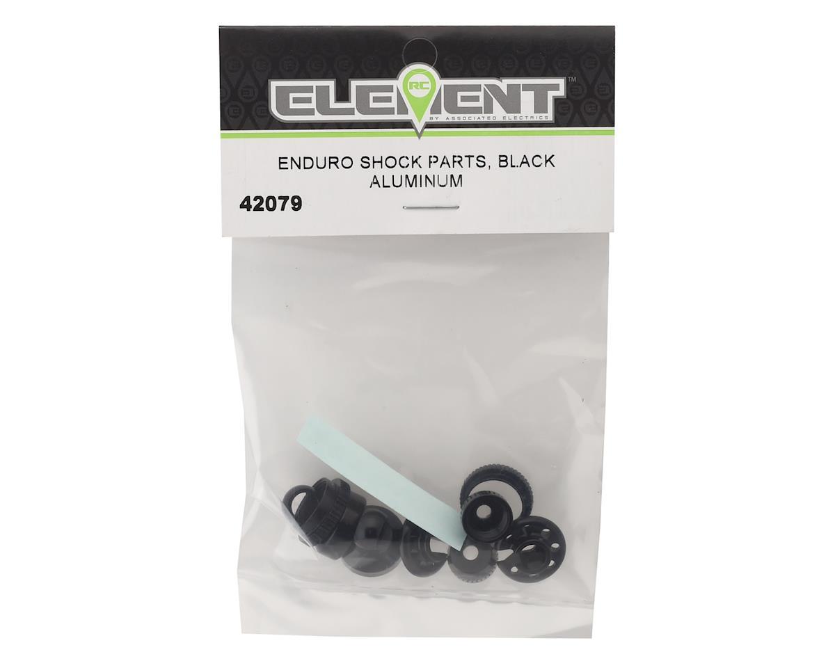 Element RC Enduro Aluminum Shock Parts (Black)