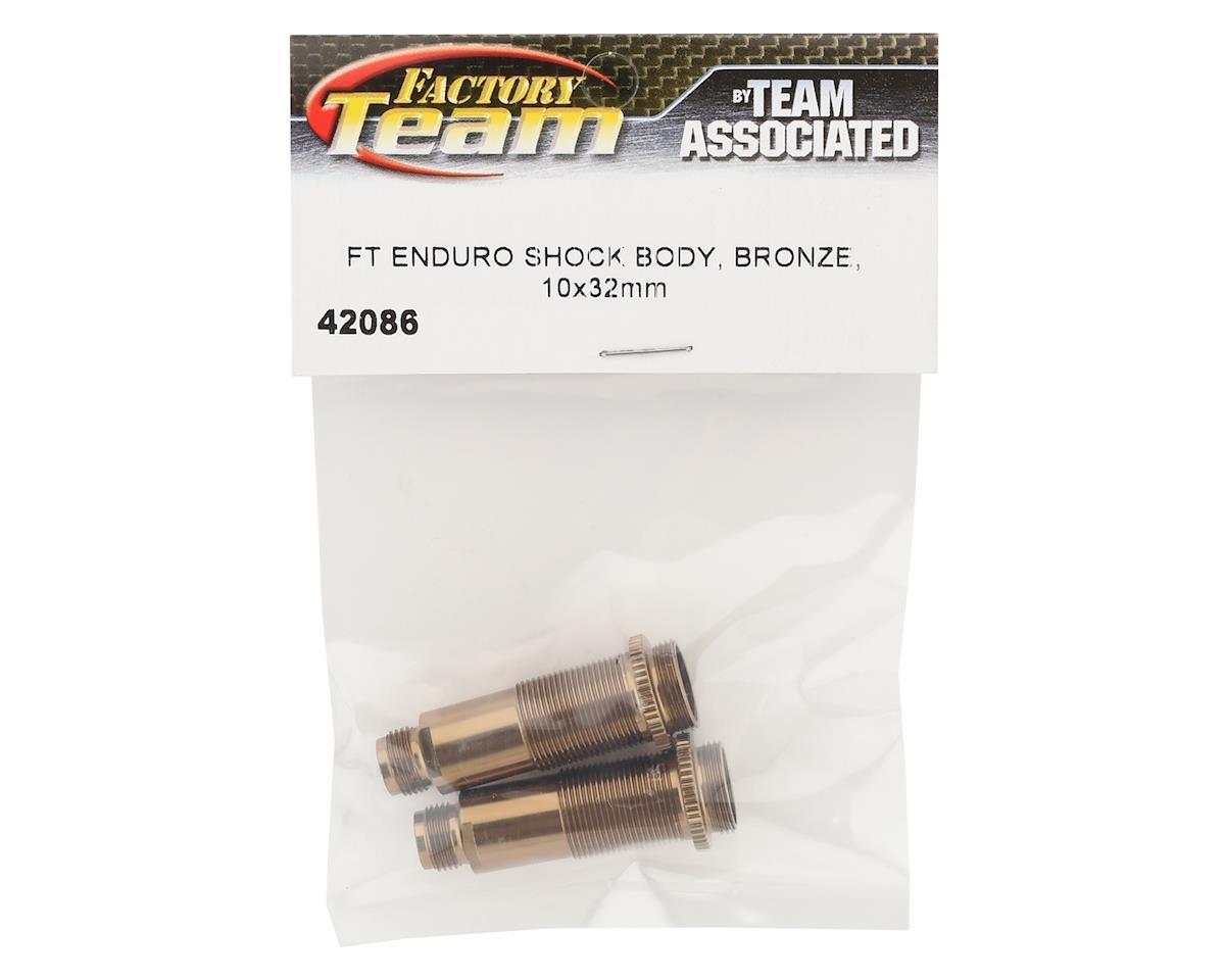 Element RC Factory Team Enduro 10x32mm Shock Bodies (Bronze) (2)