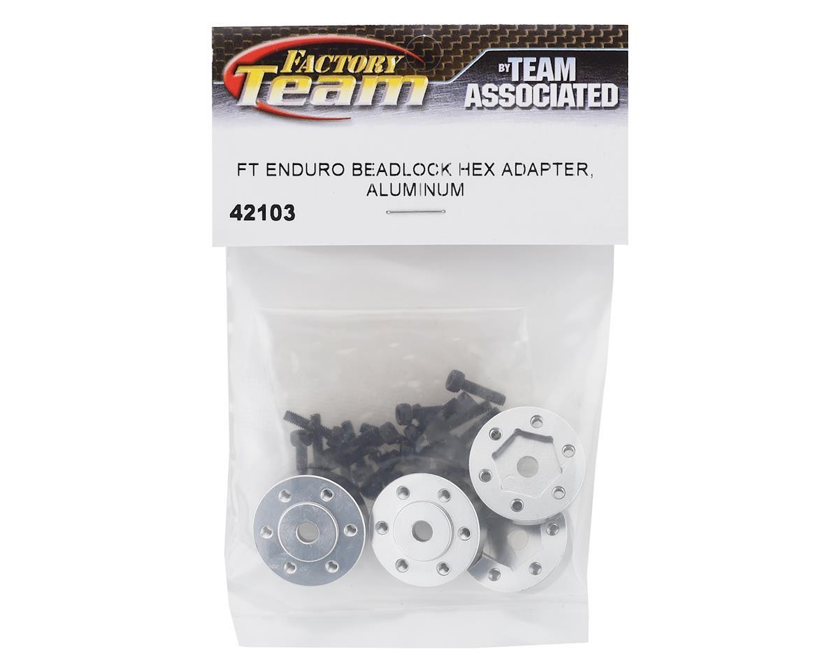Element RC Factory Team Enduro Aluminum Beadlock Hex Adapters (4)
