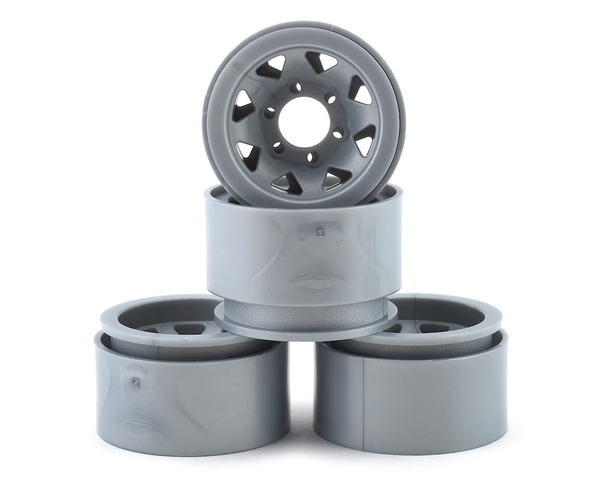 "Element RC Enduro 1.55"" Trigon Wheels (Silver) (4)"