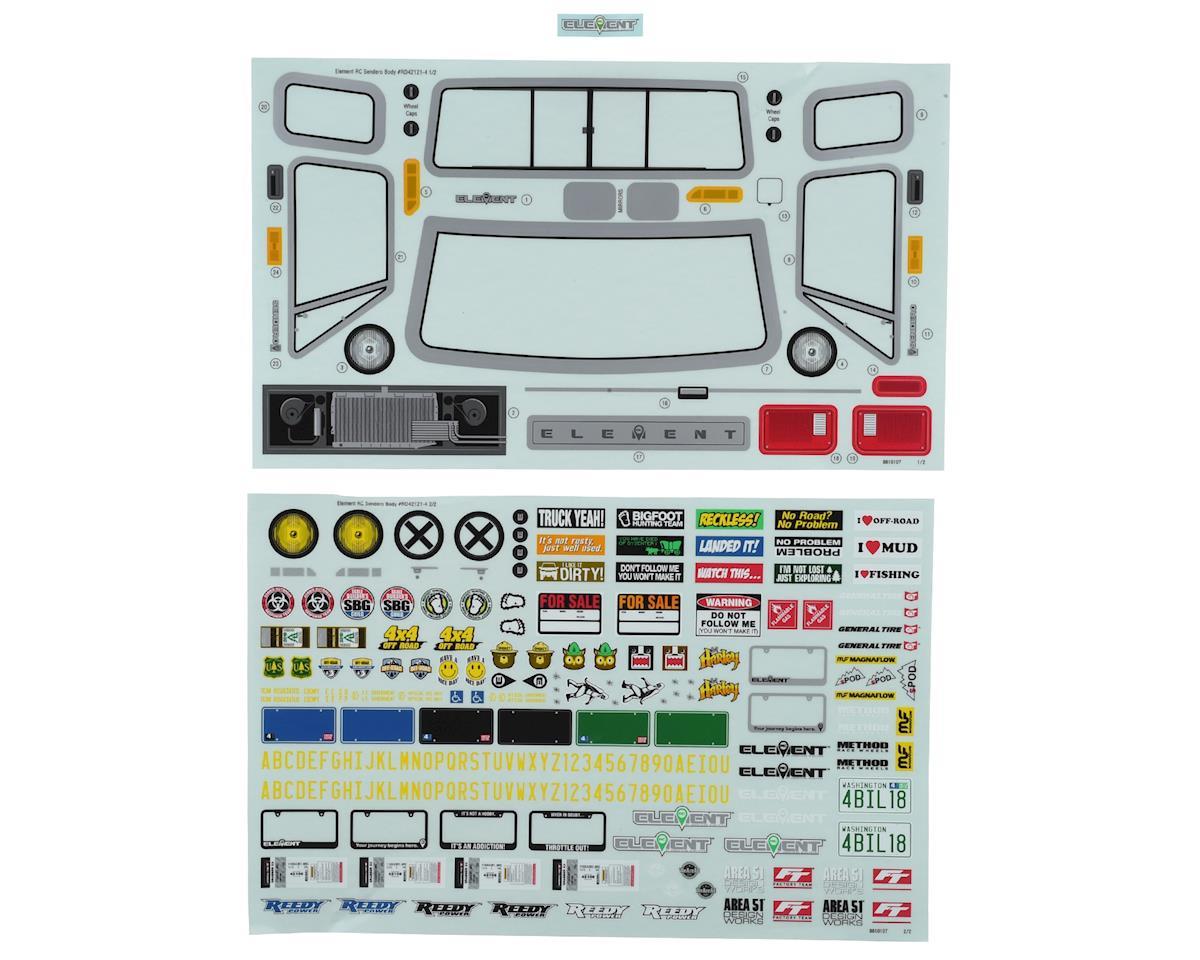 Stickers & Decals Parts Rock Crawlers - AMain Hobbies