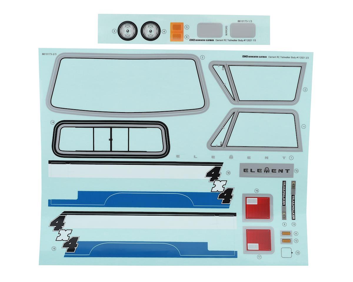 Element RC Enduro Trailwalker Body Set (Clear)