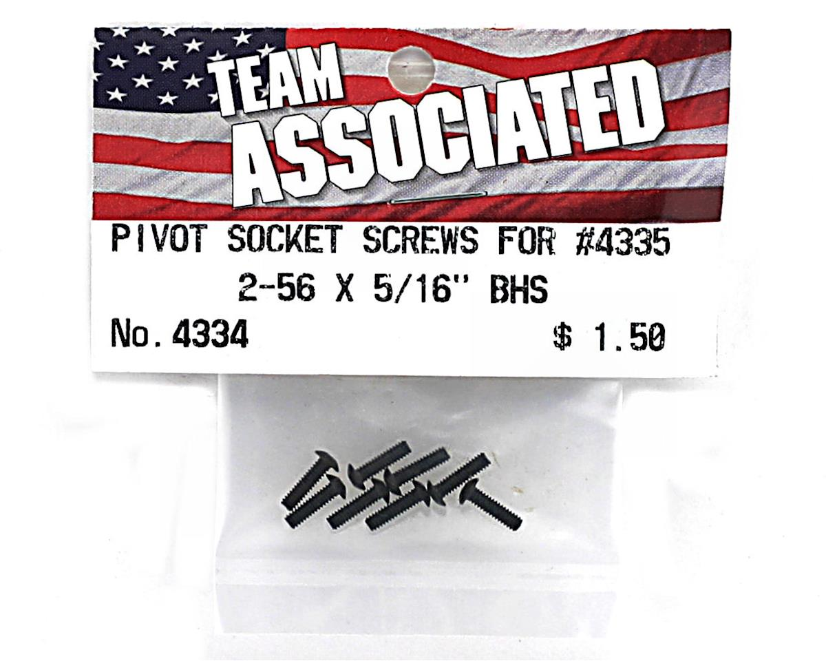 "Team Associated 2-56 x 5/16"" Button Head Screw (8)"