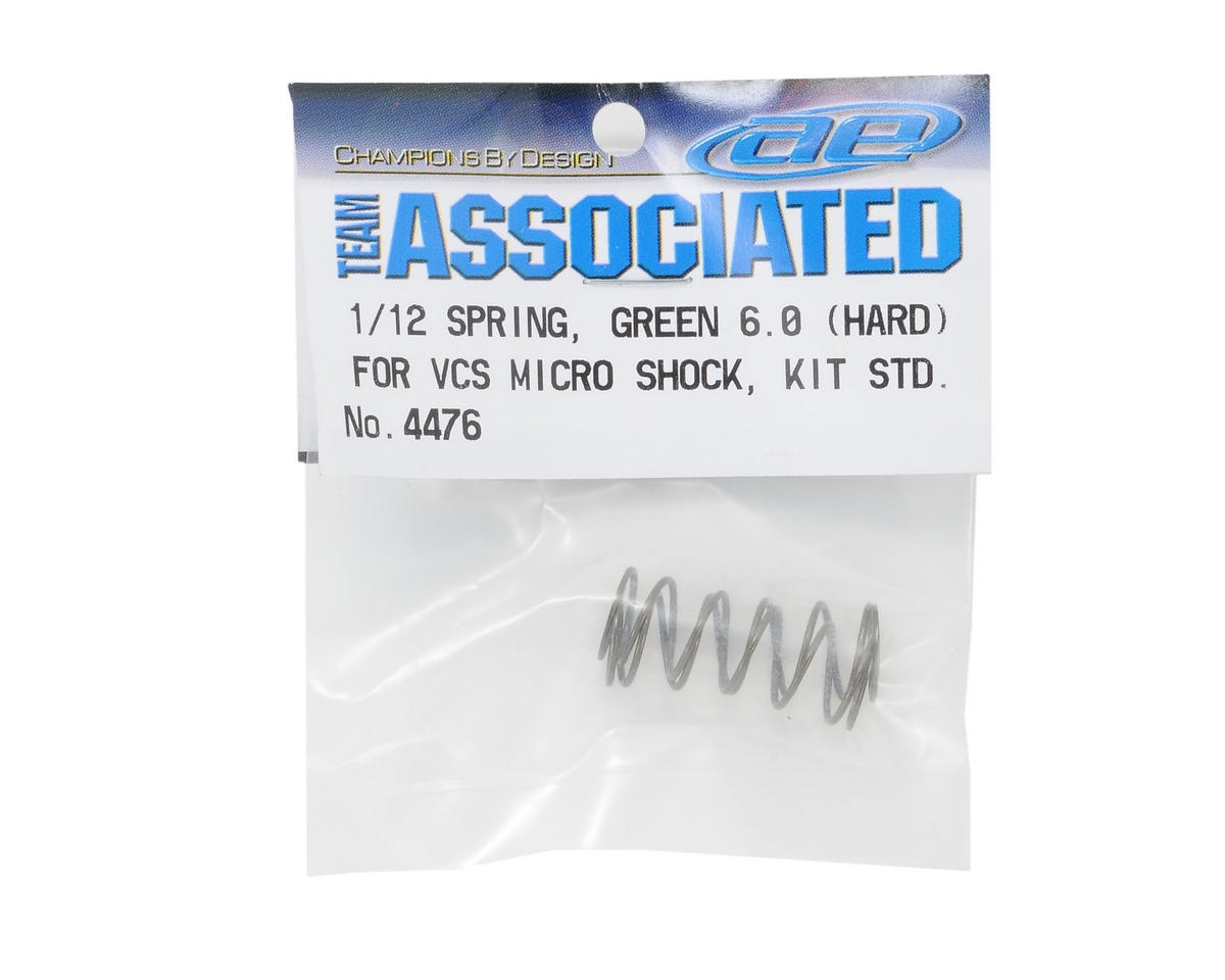 Team Associated Shock Spring Set (Green 6.0 - Hard)