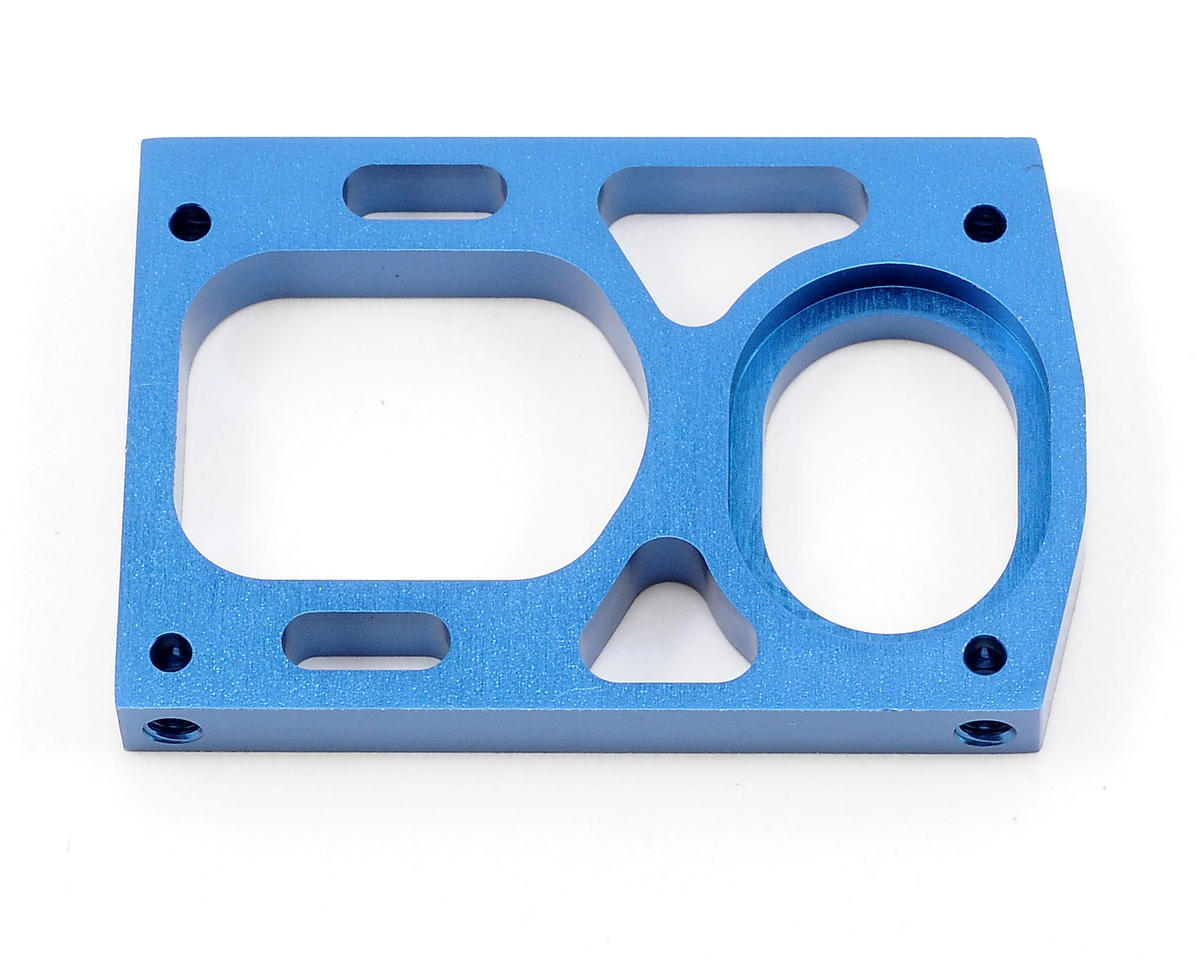 Team Associated Aluminum Motor Mount (Blue)