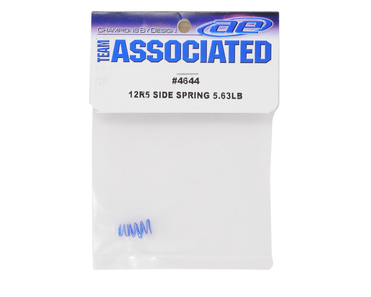 Team Associated Side Spring Set (Blue - 5.63lb) (2)