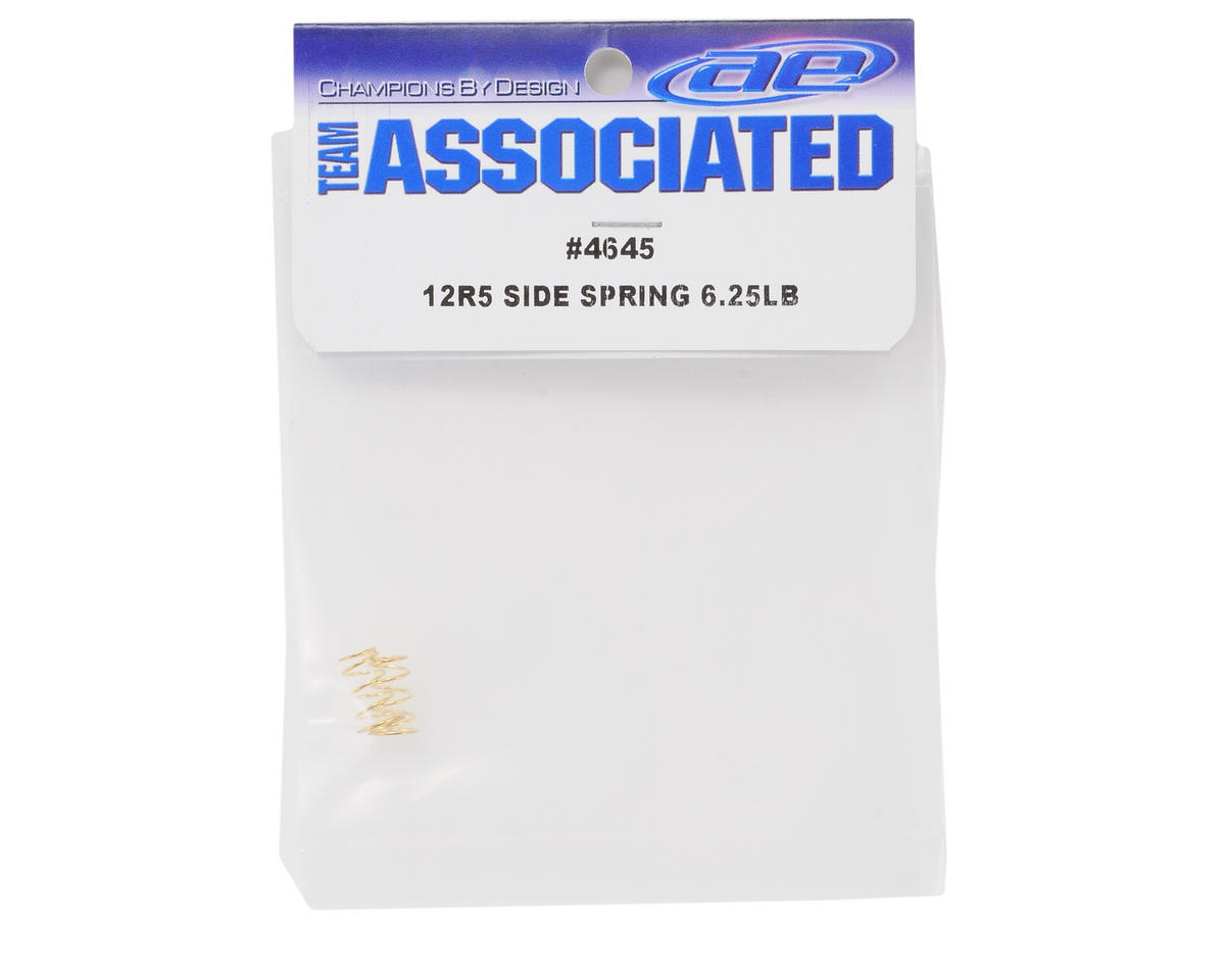 Team Associated Side Spring Set (Gold - 6.25lbs) (2)