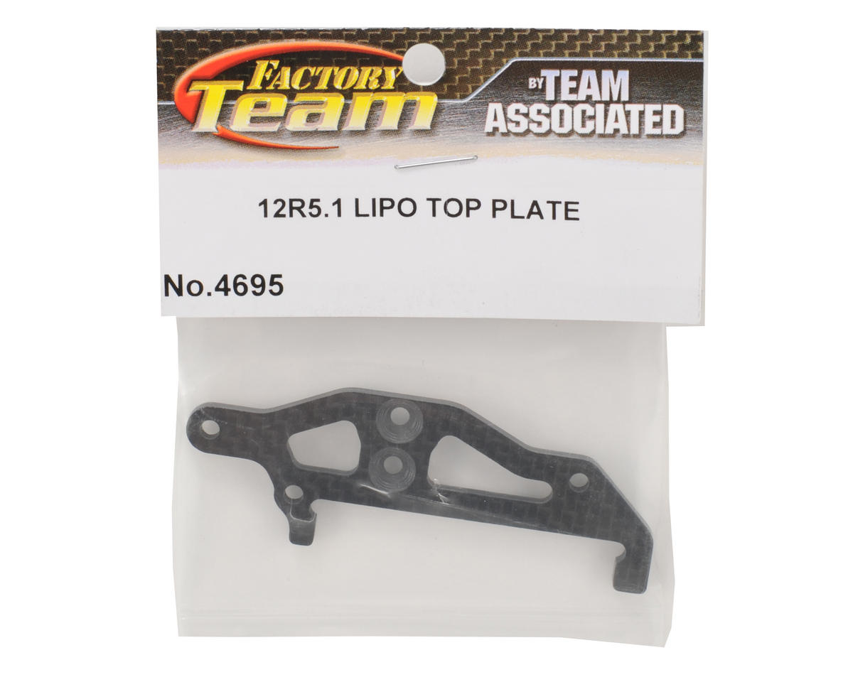 Team Associated 12R5.1 LiPo Top Plate