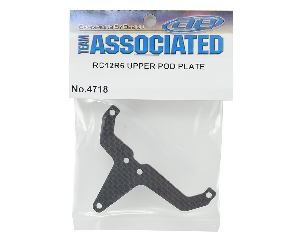 Team Associated RC12R6 Upper Pod Plate