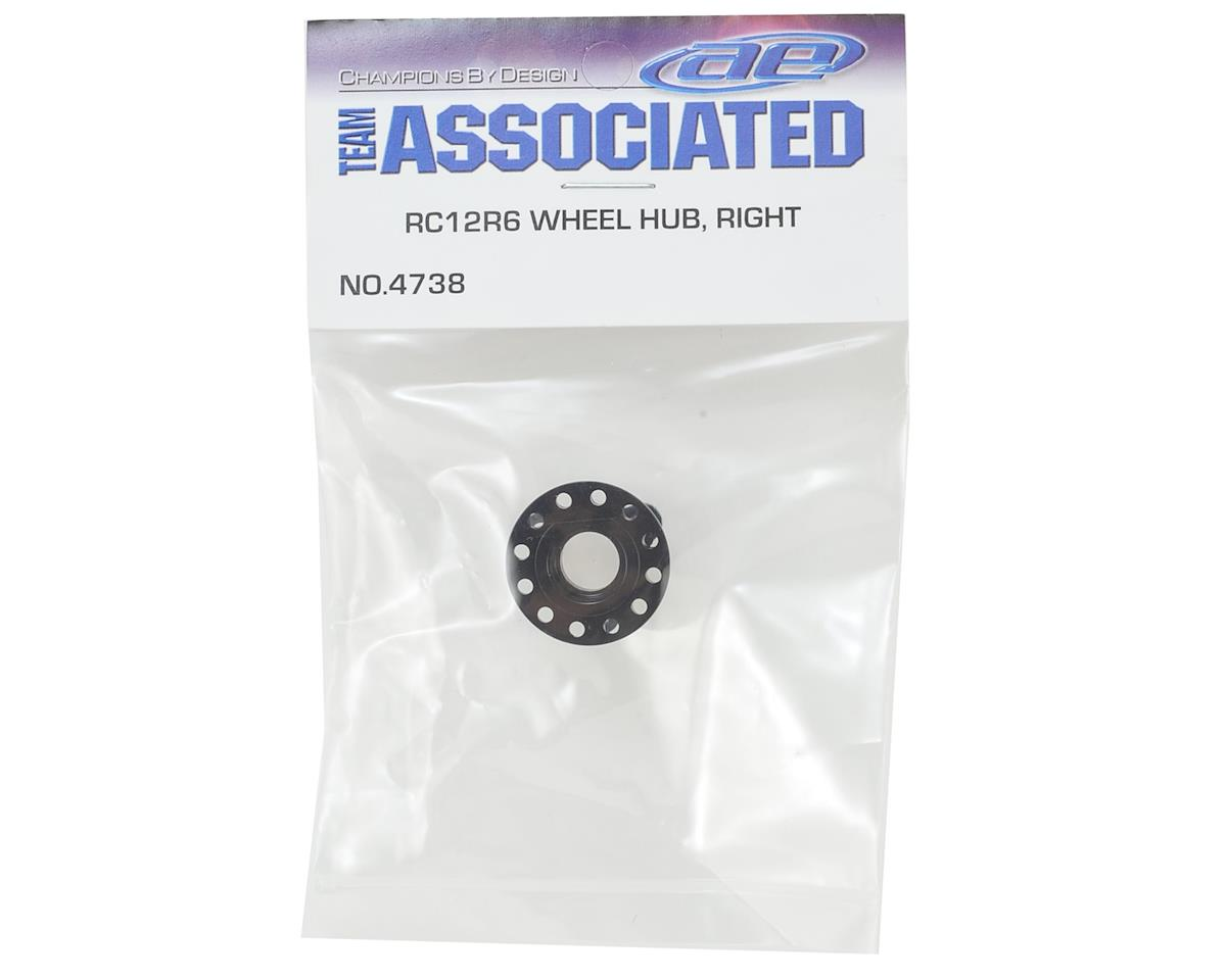 Team Associated RC12R6 Right Wheel Hub