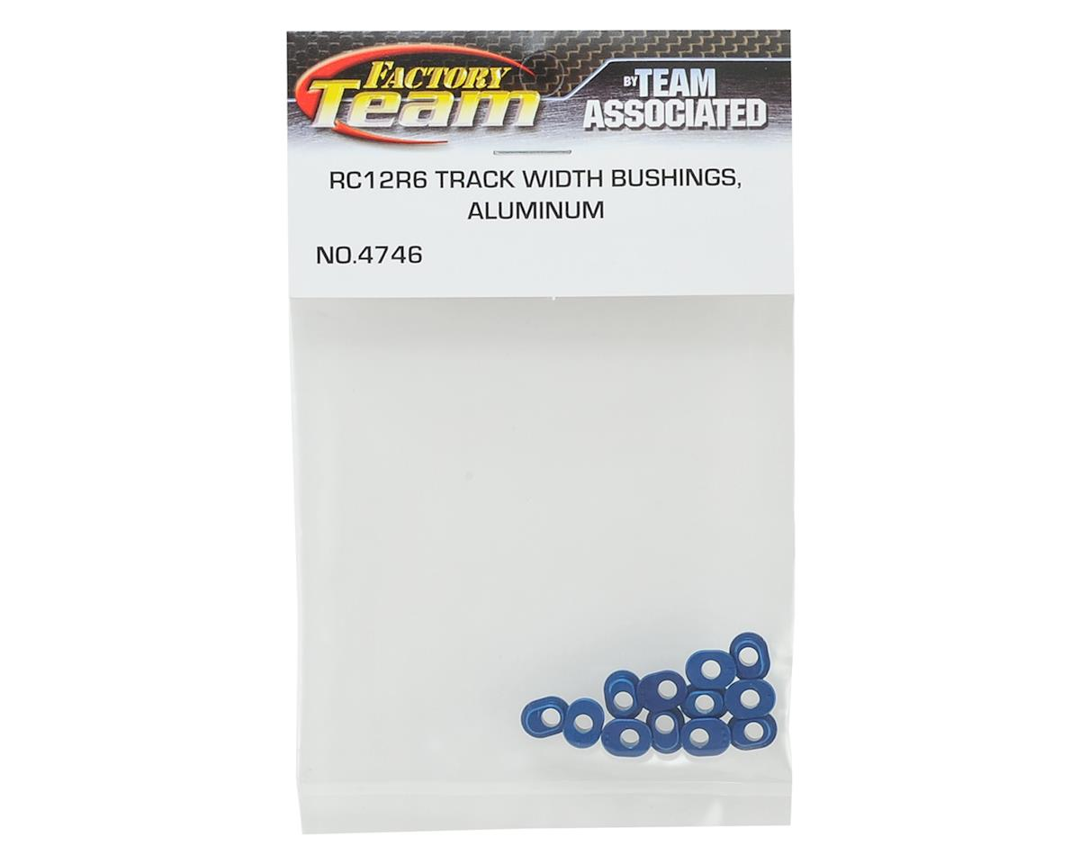 Team Associated RC12R6 Factory Team Aluminum Track Width Bushings