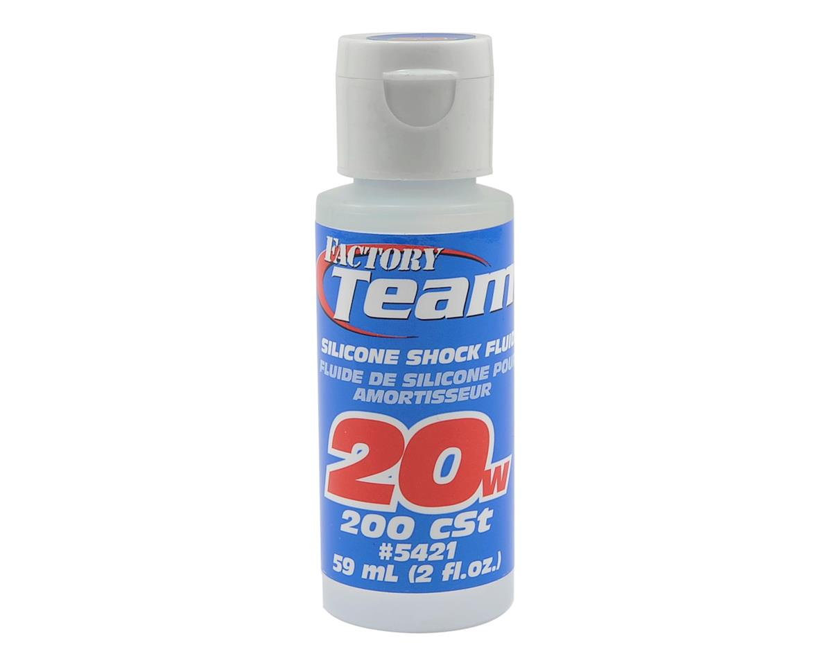 Team Associated Silicone Shock Oil (2oz) (20wt)