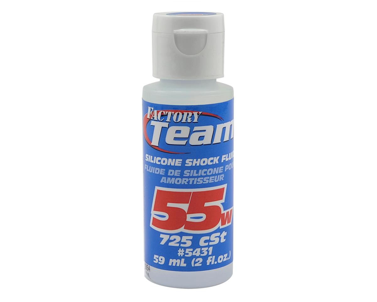 Team Associated Silicone Shock Oil (2oz) (55wt)