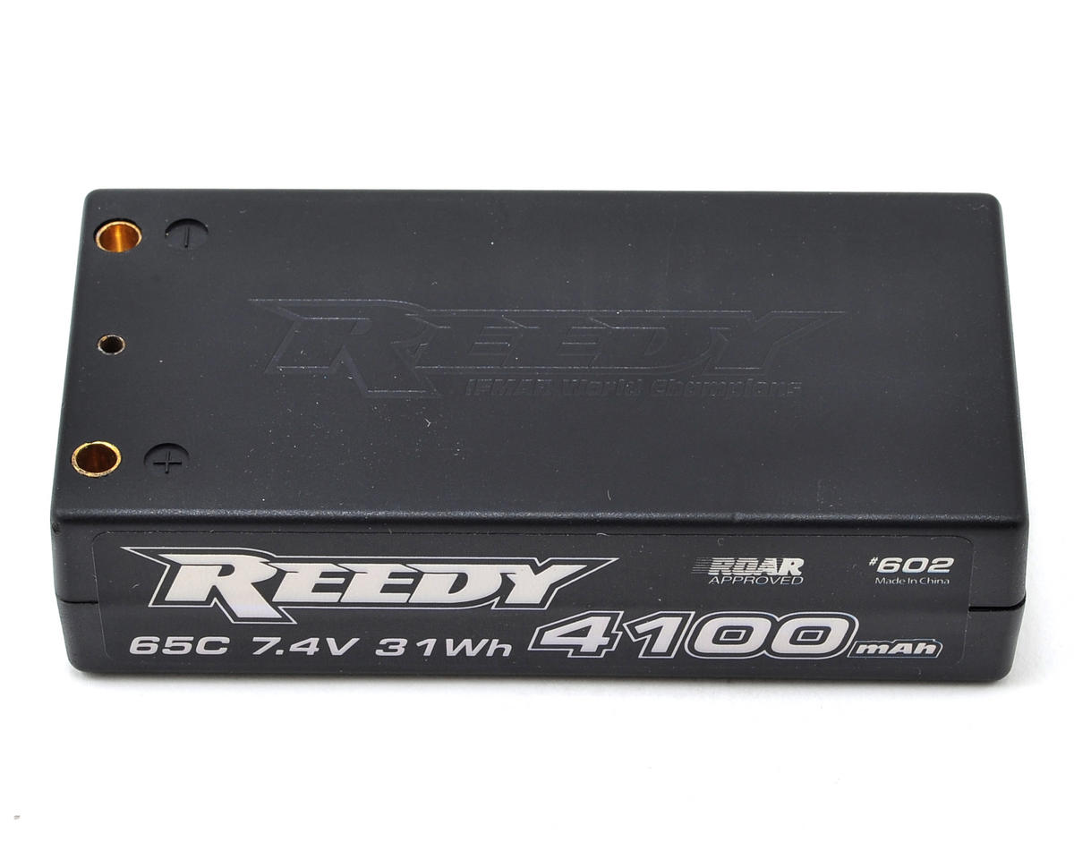 Reedy 2S Hard Case LiPo Shorty Battery Pack 65C (7.4V/4100mAh)