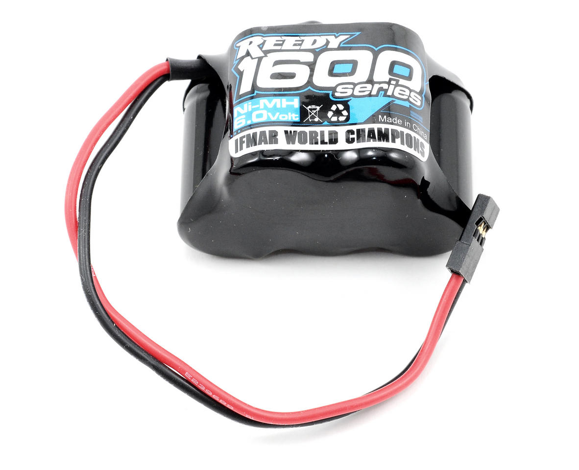 1600 Series NiMH Hump Receiver Pack (6.0V/1600mAh) by Reedy