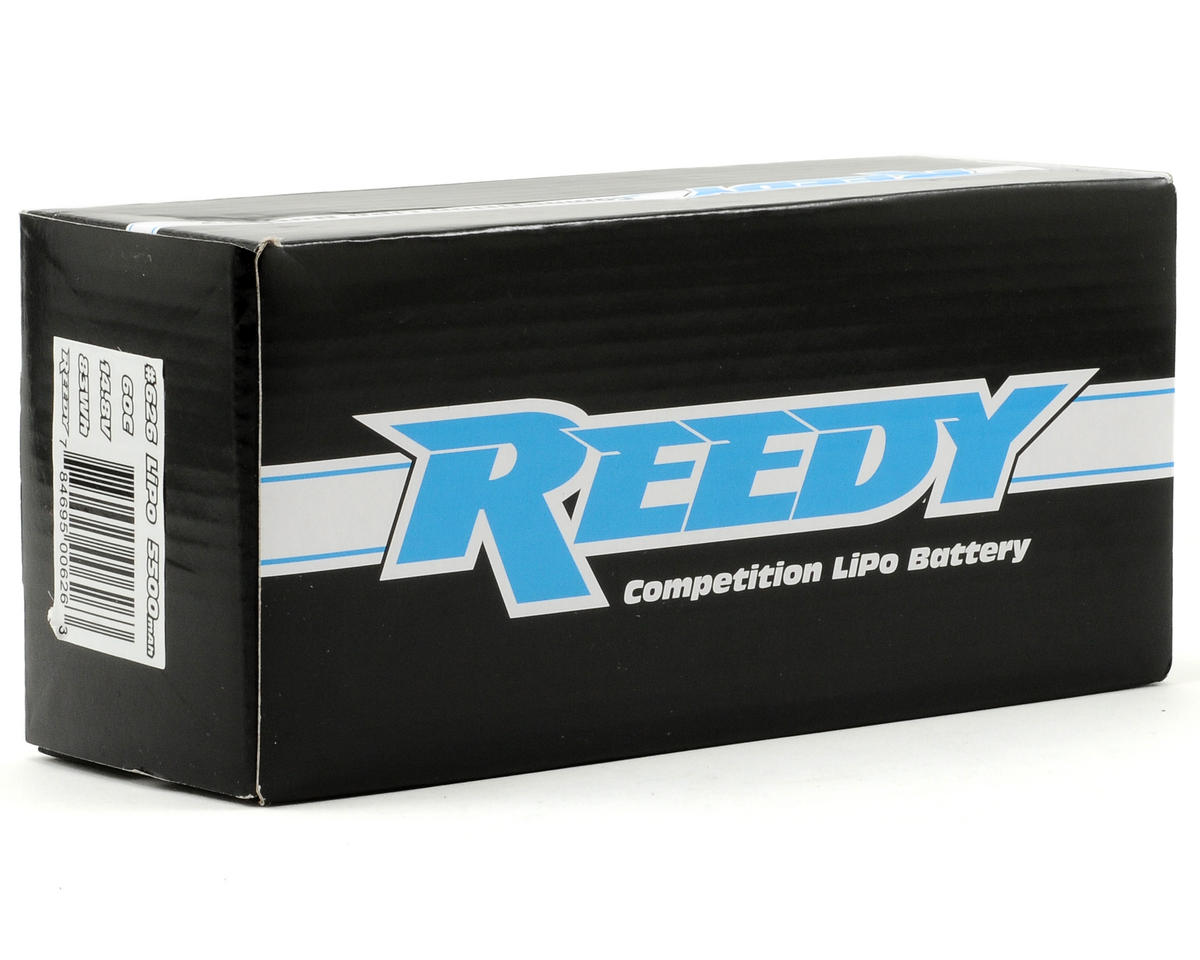 Reedy 4S Hard Case Li-Poly Battery Pack 60C (14.8V/5500mAh)