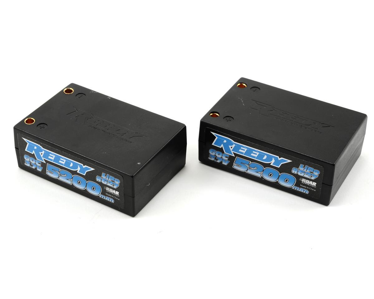 Reedy 2S Hard Case Li-Poly Saddle Pack Battery 60C (7.4V/5200mAh)