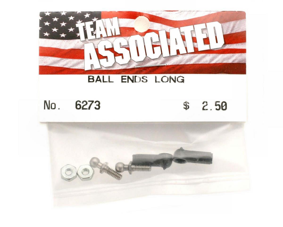 Ball Joint Male 4-40 Long Steel by Team Associated