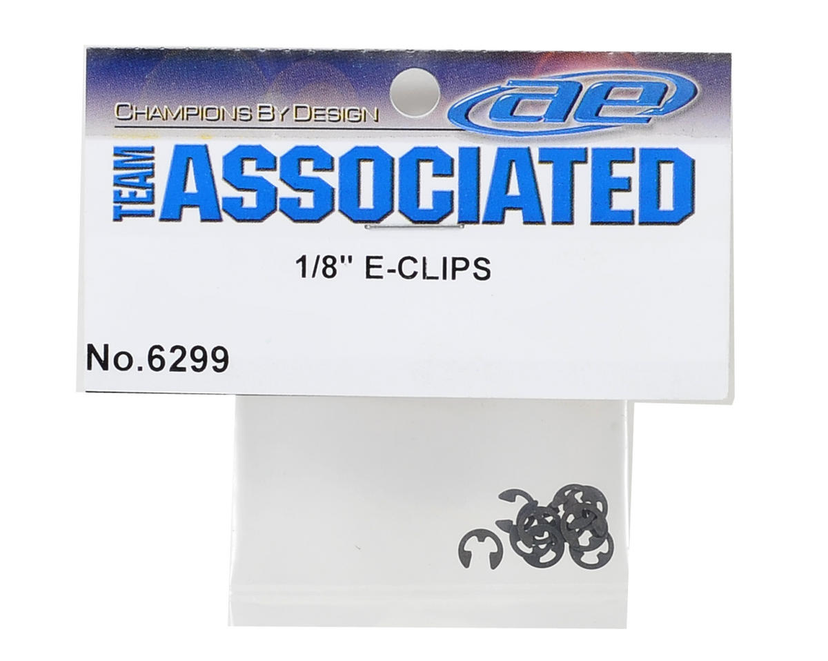"Team Associated 1/8"" E-Clip (10)"