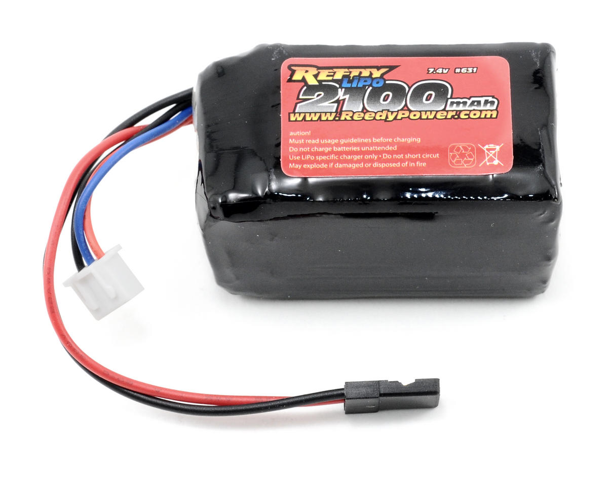 Team Associated 2S Pro LiPo Receiver Battery 10C (7.4V/2100mAh)