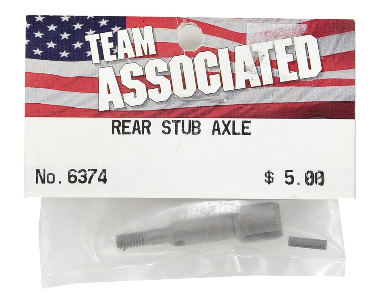Stub Axle w/Roll Pin (RC10T/T2/GT) by Team Associated