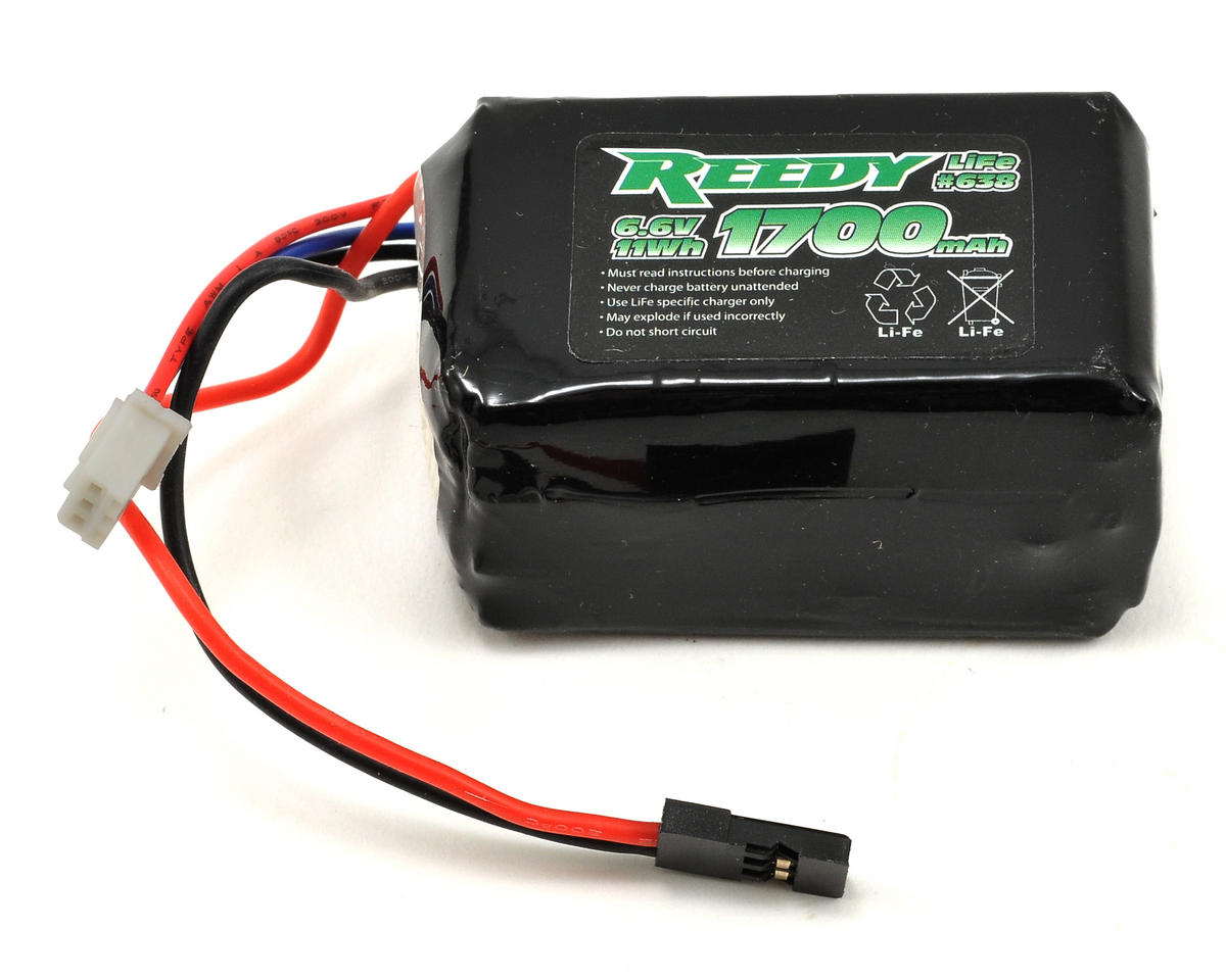 LiFe Receiver Battery 10C (6.6V/1700mAh) by Reedy