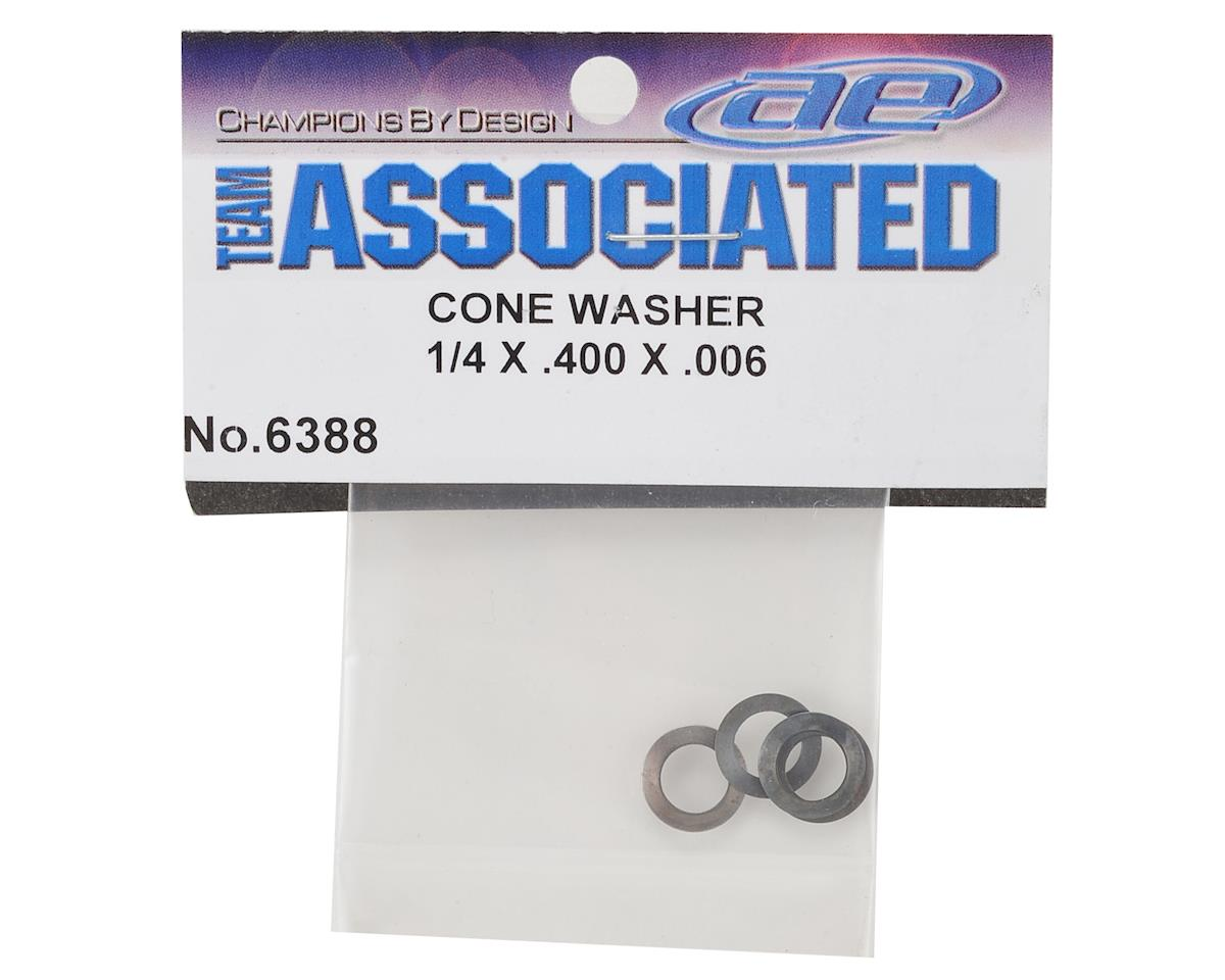 Team Associated 1/4 x 400 x .006 Cone Washer
