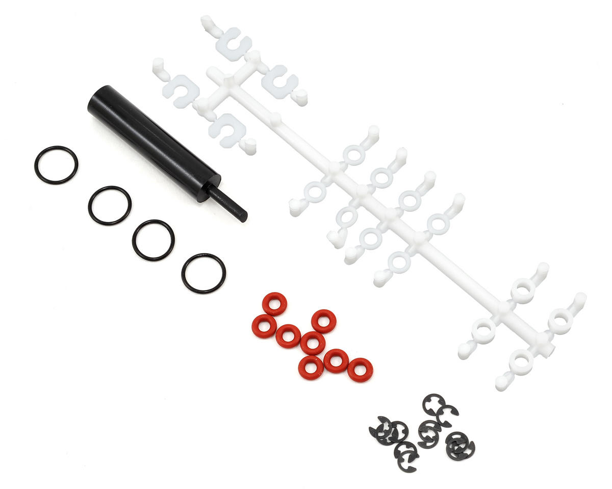 Team Associated Shock Rebuild Kit (4) (X Factory X-6 Squared)