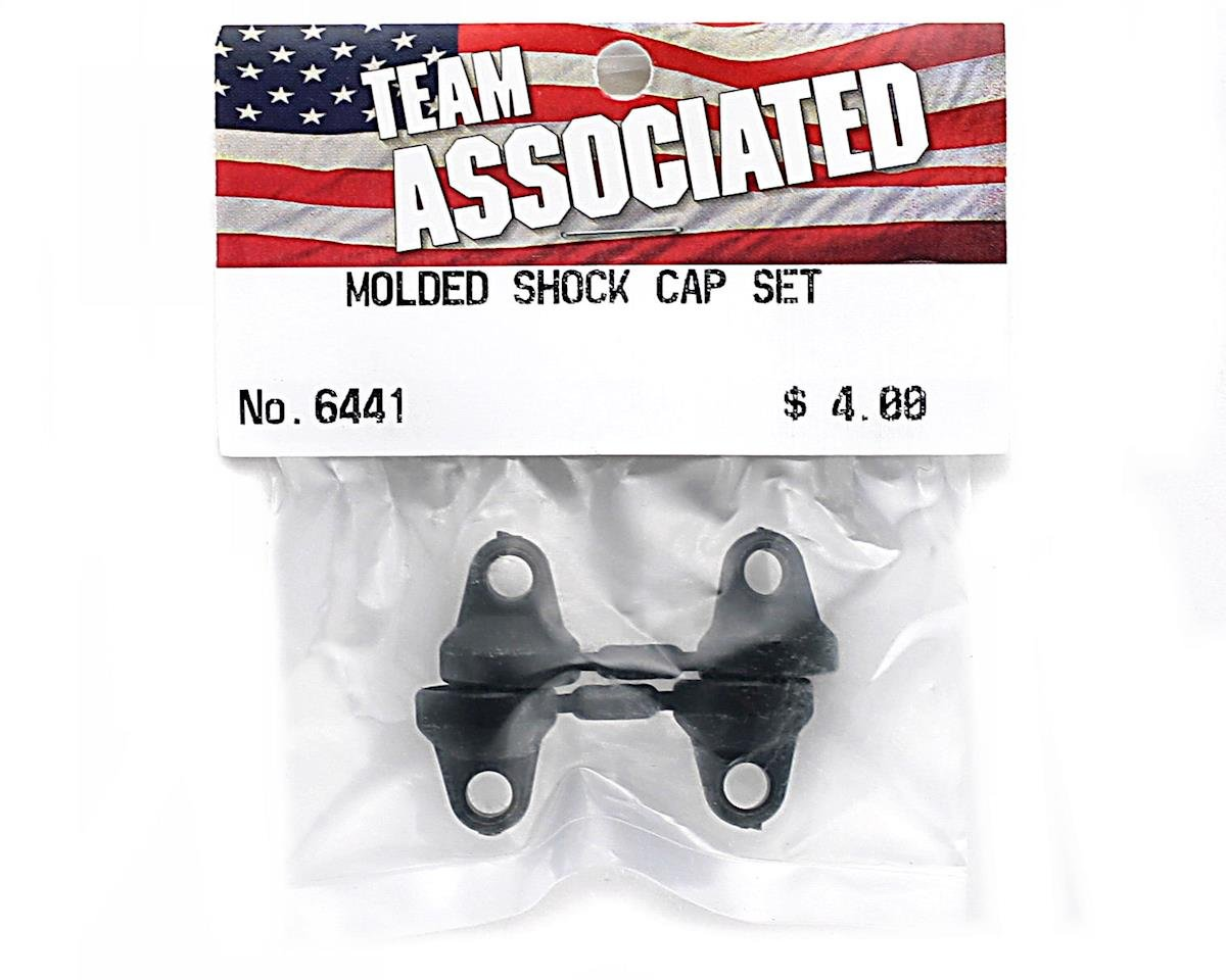 Team Associated Molded Shock Cap Set (4)
