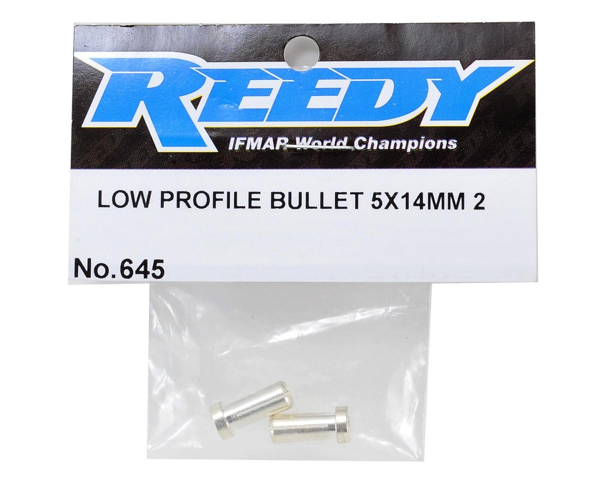 Reedy 5mm Low-Profile Bullet Connector (2)