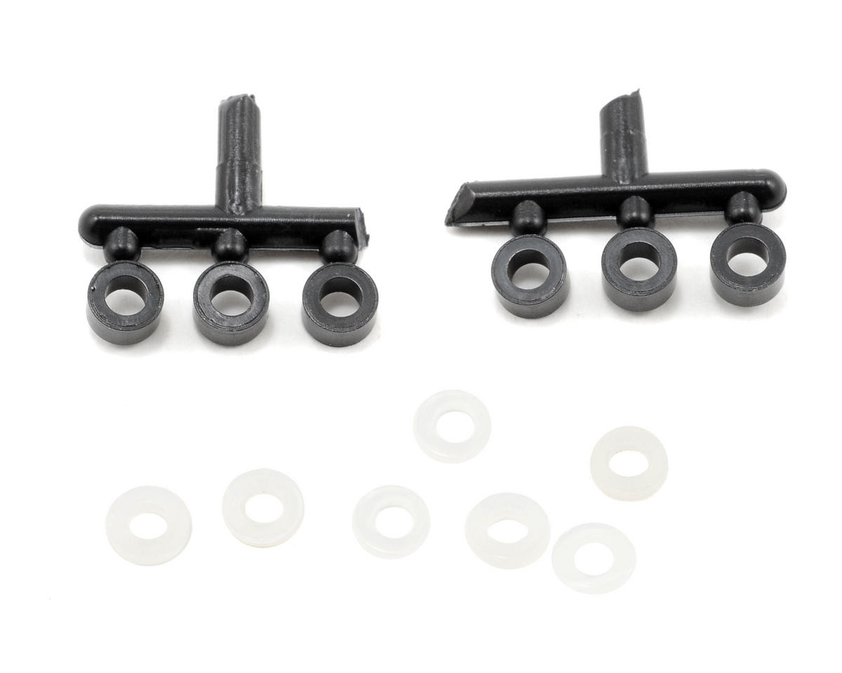 Team Associated Rear Shock Downstop Set