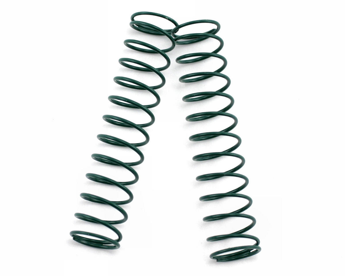 Team Associated RC10 Worlds Rear Buggy & Truck Shock Spring 1.90lb (Green) (2)