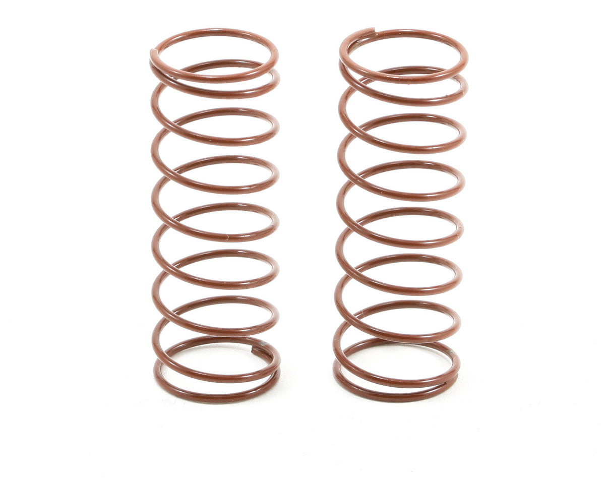 Team Associated Front Buggy Shock Spring Set (Brown - 2.80 lbs) (2)
